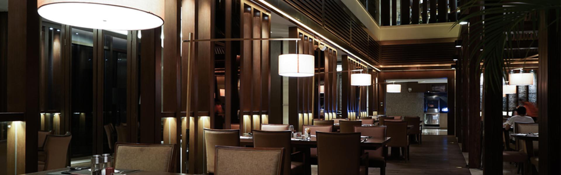 A luxury restaurant